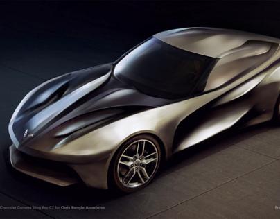 Futurism Corvette