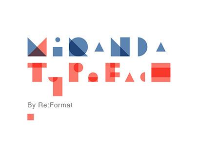 Miranda Typeface