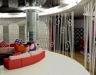 The project of the apartment in Minsk