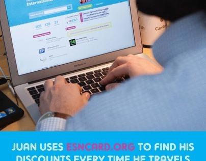 Esncard.org advertisement