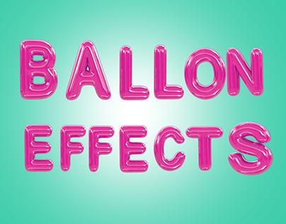 BALLON EFFECTS LETTER 3D FREE DAWNLOAD