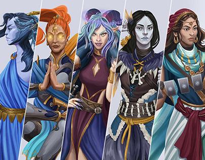 Pathfinder RPG | Planar Adventures - Characters
