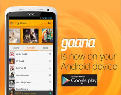 how to download gaana.com app