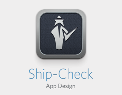 Ship-Check - App. Design
