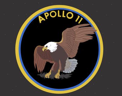 «We walk on the moon» - Eagle - Apollo 11