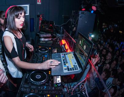Sasha Grey @Dude Club, Milan