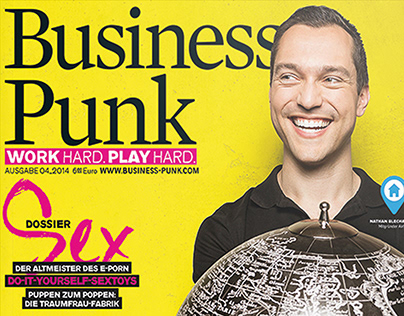 Print Advertising for Business Punk