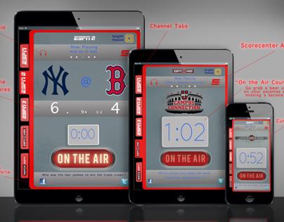 my ESPN app