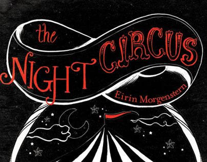 """Book illustration assignment of """"The Night Circus"""""""
