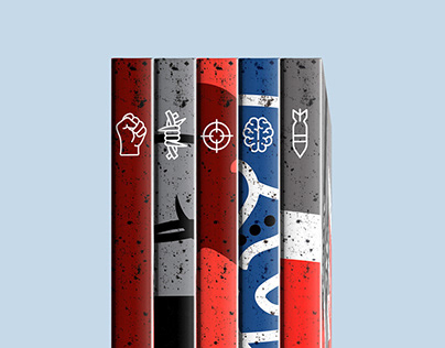 THE WARS, cover set
