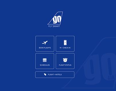 Go Air - Application Redesign