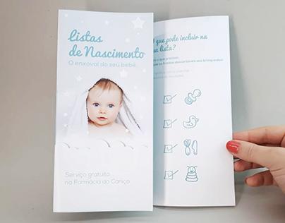 Listas de Nascimento: O enxoval do seu bebé