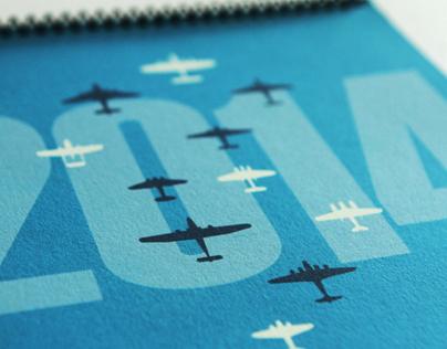 World War II Plane Calendar