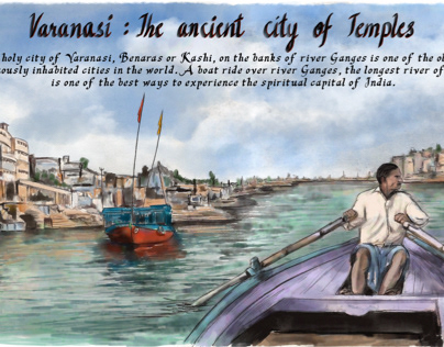 Varanasi: the ancient city of temples