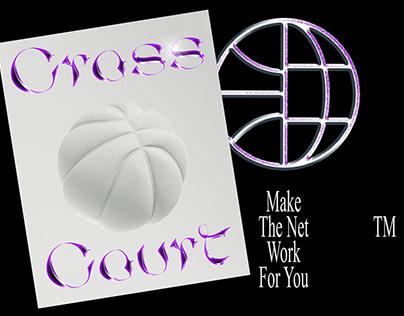 """Cross Court """"SOUR GRAPE"""" identity concept"""