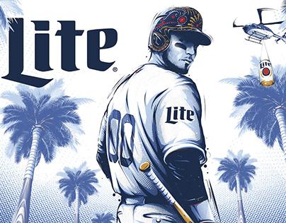 Miller Lite Dodgers