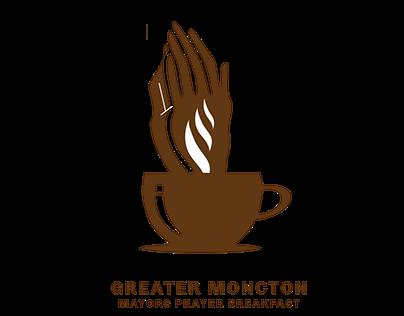 Greater Moncton Mayors Prayer Breakfast Logo Design