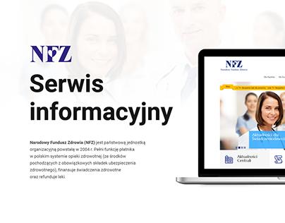 Serwis informacyjny dla NFZ