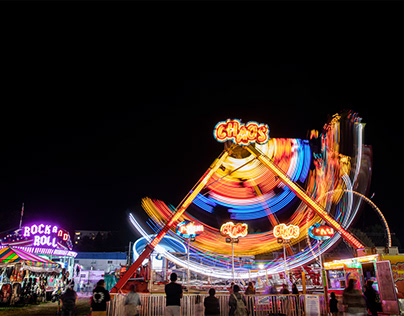Radiant Carnival Rides