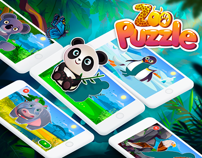 Zoo Puzzle - iOS & Android mobile Game