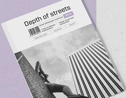 Depth of Streets Magazine