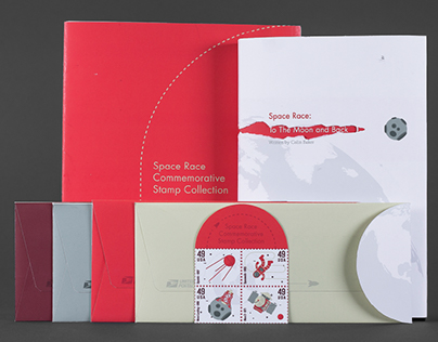 Space Race Commemorative Stamp Collection