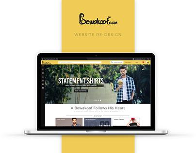 Bewakoof Website Re-design