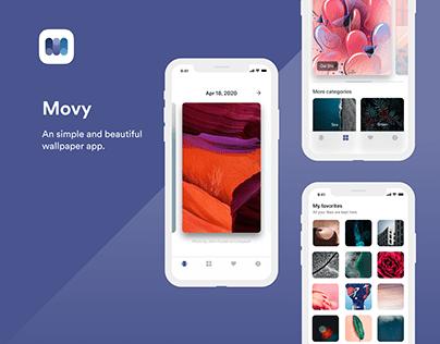Movy wallpaper app