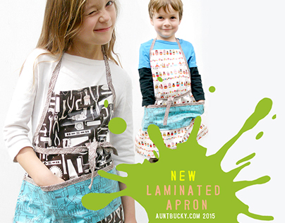 Visual Design: eCommerce Kids Fashion site: Aunt Bucky
