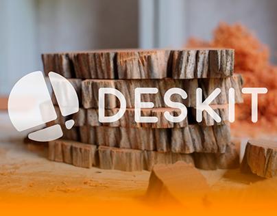 DESKIT logo branding