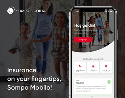 Sompo Sigorta Mobile Application