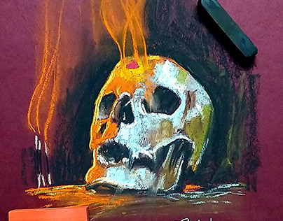 Aghori Skull
