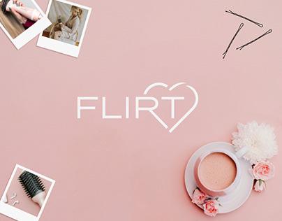 FLIRT Logo Design