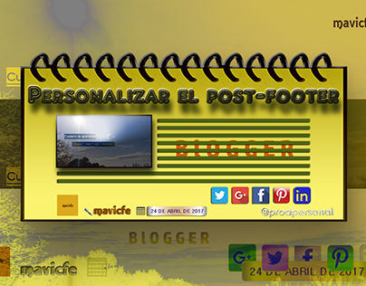 Blogger Post Footer_Prodpersonal Blog