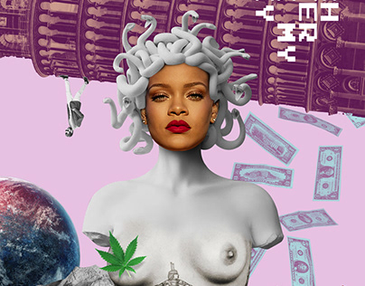 Collages and Celebrity Posters
