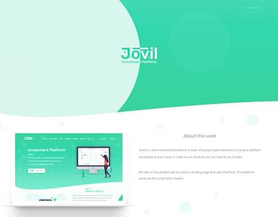Jovil. Investment platform.