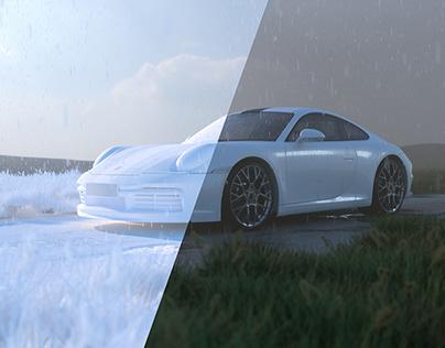 CGI - Porsche 911