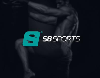 S8 Sports - Logo e ID Visual