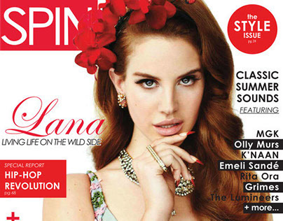 Layout Design - Spin Mag