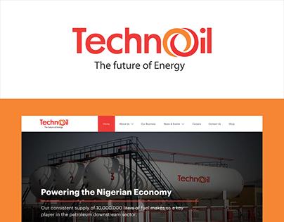 UX/UI Design for Techno Oil Limited