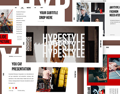 HYPESTYLE - Powerpoint Template