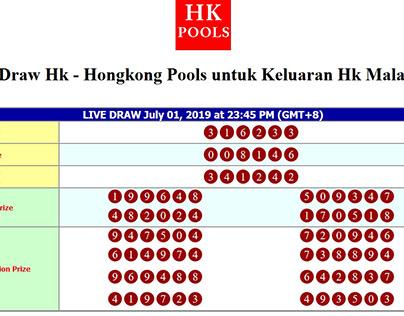Data Hk hasil Keluaran Hk dari Live Draw Hk