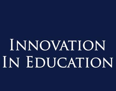 Eğitimde Yenilikçilik