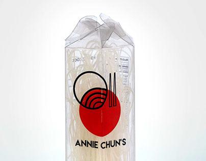 Annie Chun's Noodles Packaging
