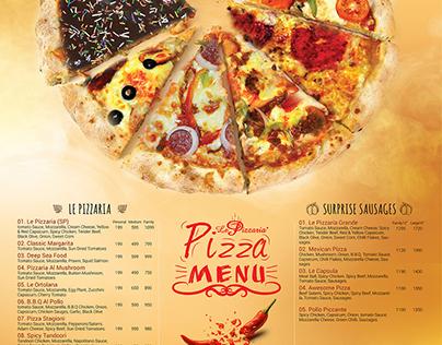 Ad Design for Le Pizzaria : Vol 2