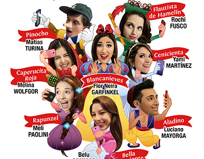 Teatro: Blancanieves y los 7 youtubers