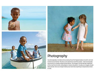Tourism Fiji Branded Photography