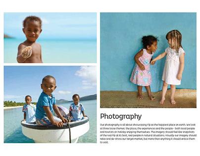 Tourism Fiji Branded Photography