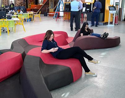 D&A public seating system for Joynout