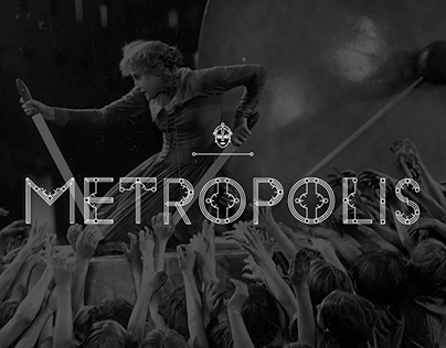   METROPOLIS   Display Font